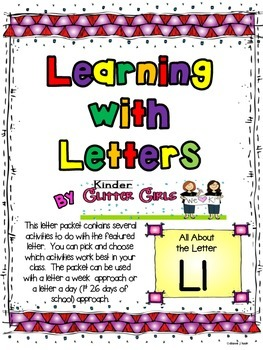 Learning with Letters:  All About the Letter Ll
