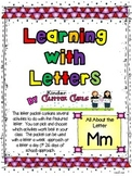 Learning with Letters:  All About the Letter Mm