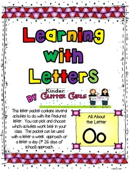 Learning with Letters:  All About the Letter Oo