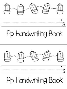 Learning with Letters:  All About the Letter Pp
