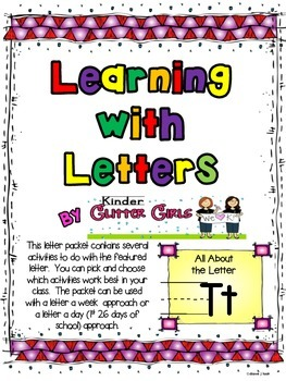 Learning with Letters:  All About the Letter Tt
