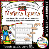 Learning with Literature: Manana Iguana - Lesson plan - So