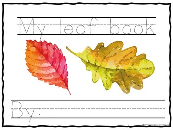 Learning with Littles: Pack # 1: Leaf Fun Freebie