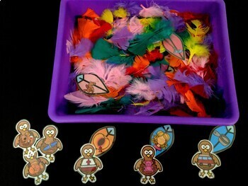 Learning with Littles: Pack # 2: Turkey Time