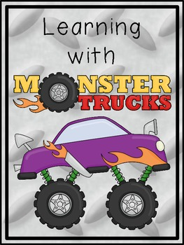 Learning with Monster Trucks Math and Literacy Activities