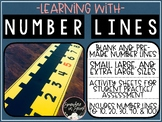 Learning with Number Lines-with Activity Sheets!