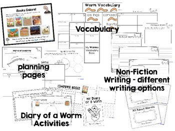 Learning with Worms: Using Diary of a Worm and Non-Fiction Books