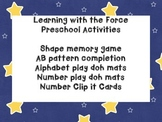 Learning with the Force: Early learning activities