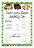 Editable Learn your Name Activity Kit