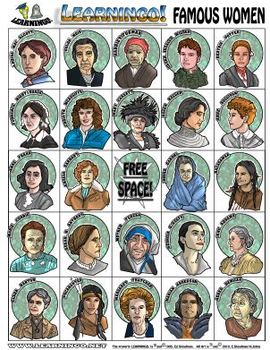 Learningo Learning Game - Famous Women