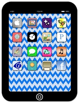Learning..there is an app for that! Beginning of year bulletin board pack BLUE!