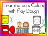 Learnon Our Colors with Play Dough
