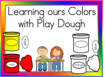 learning Our Colors with Play Dough