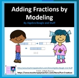 Least Common Denominator Fraction Modeling