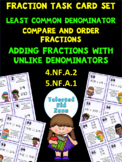 Least Common Denominator Task Card Set
