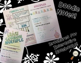 Least Common Multiple - Decorated Notes Brochure for Interactive Notebooks