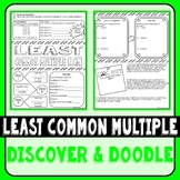 Least Common Multiple Discover & Doodle
