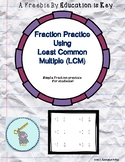 Least Common Multiple-Fractions