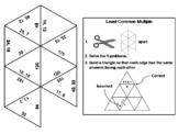 Least Common Multiple Game: Math Tarsia Puzzle