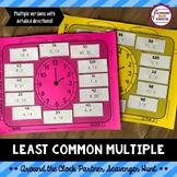 Least Common Multiple (LCM) Around the Clock Partner Scavenger Hunt Activity