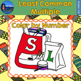 Least Common Multiple (LCM) Math Practice Back to School C