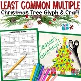 Least Common Multiple (LCM) Christmas Tree Glyph Craftivity