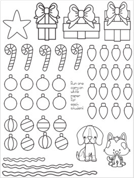 Least Common Multiple (LCM) Christmas Tree Glyph Craftivity