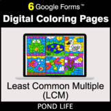 Least Common Multiple (LCM) - Google Forms | Digital Color