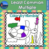 Least Common Multiple (LCM) Math Practice Under the Sea Co