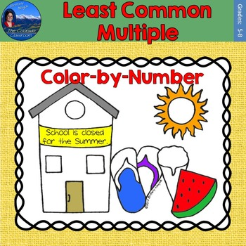 Least Common Multiple (LCM) Math Practice End of Year Colo