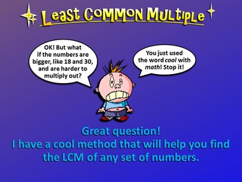 Least Common Multiple (PowerPoint Only)