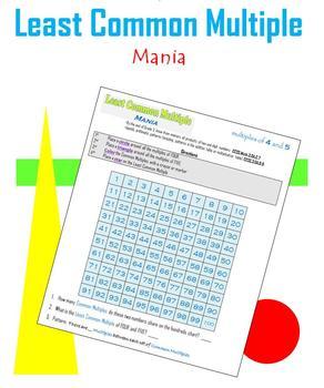 Least Common Multiple Mania