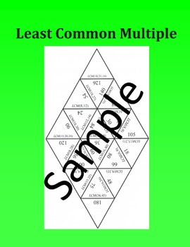 Least Common Multiple – Math puzzle