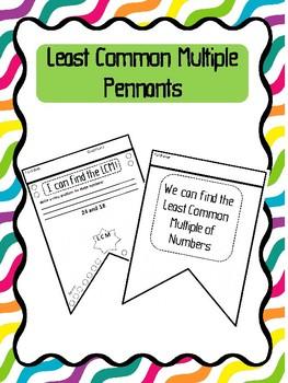 Least Common Multiple Pennants