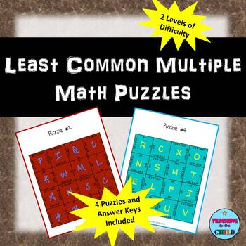 Least Common Multiple Puzzles