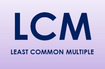 Least Common Multiple Task