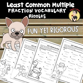 Least Common Multiples Worksheets