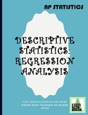 AP Statistics - Two Variable Statistics Part 5: Regression Analysis