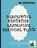 AP Statistics - Two Variable Statistics Part 3: Examining