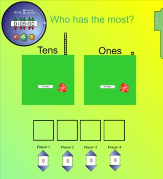 Least or Most Math Smartboard Games
