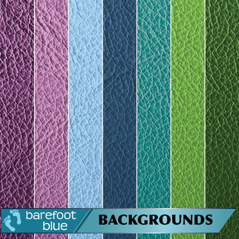 Leather Texture for Backgrounds/Digital Paper in Cool Shades