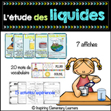 L'eau et les liquides 2e année sciences - Water and Liquid