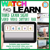 Leave   3rd Grade Sight Word Building Video   5 Letter Word