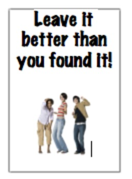 Leave It Better than You Found It Poster