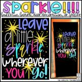 Leave a Little Sparkle June/Summer Bulletin Board, Door De