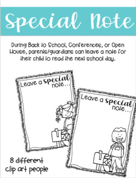 Leave a Special Note