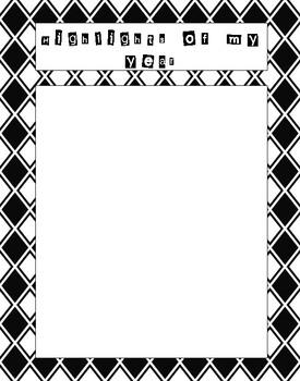 Leavers book