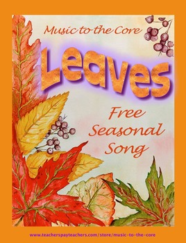 Leaves - an Autumn song