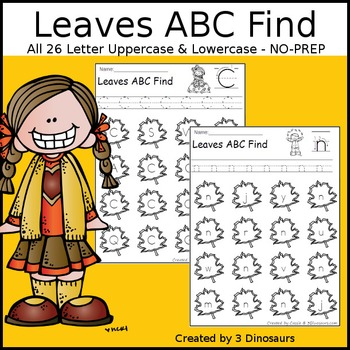 Leaves ABC Letter Find