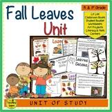Fall Leaves:  Activities & Centers